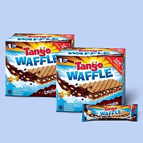 Combo 2 Bánh Xốp Tango Waffle Sôcôla 160gr (8gr x 20pcs)