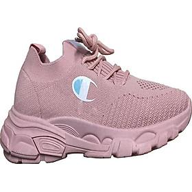 Giày sneaker nữ độn đế cổ chun biểu tượng cờ HAPU