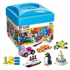 Đồ Chơi Lắp Ráp Trẻ Em BỘ LEGO CƠ BẢN 460 CHI TIẾT - Bằng nhựa ABS an toàn Lego Style
