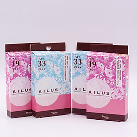 Phấn nền sáng da Naris Ailus WH Beauty Powder Foundation-10