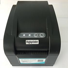 Máy in mã vạch Highprinter HP-400USE ( USB+RS232+LAN) - Hàng nhập khẩu