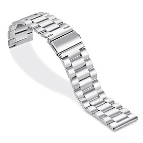 22mm Watchband Stainless Steel Watch Band Strap Wristband Replacement Compatible with HUAWEI WATCH GT2 46mm / HONOR