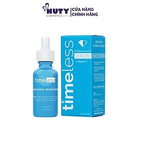 Tinh Chất Dưỡng Ẩm Làm Trắng Da Timeless Hyaluronic Acid + Vitamin C (30ml)