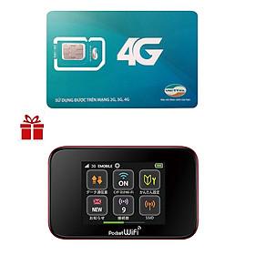 Bộ Phát Wifi Di Động Huawei GL10P 3G 42Mbps/75Mpbs 2400mAh + Sim 3G/4G Viettel Trọn Gói 1 Năm D500 - Hàng Nhập Khẩu