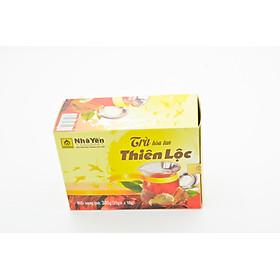 Trà Hòa Tan Thiên Lộc - Hộp 20 gói 15 gram - Nhà Yến Nha Trang - Thương hiệu uy tín - Đặc sản Yến Sào Khánh Hòa - Yến Sào chất lượng