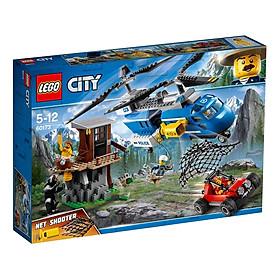 Đồ Chơi Xếp Hình LEGO Trực Thăng Cảnh Sát Đặc Nhiệm 60173