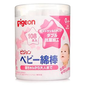 Tăm Bông Ráy Tai Cho Trẻ Em Pigeon