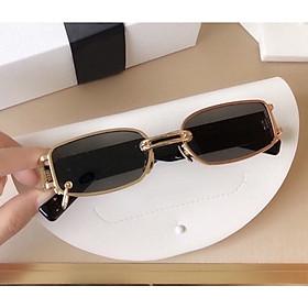 Mắt kính mát nam nữ thời trang cao cấp hottrend 2021 kiểu dáng nhỏ gọn Jun Secrect BALEN nhí