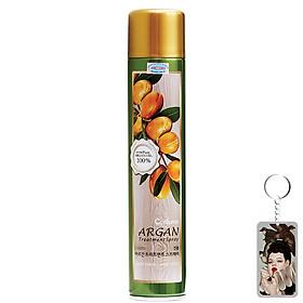 [Tặng móc khoá] Gôm xịt tóc mềm Confume Argan Treatment Spray dưỡng màu tóc nhuộm Hàn Quốc 300g