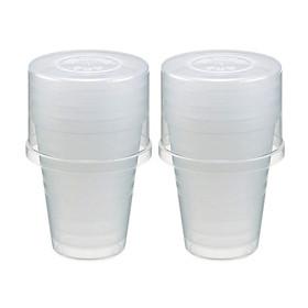 2 bộ cốc nhựa tiện dụng khi mang đi dã ngoại - Hàng nội địa Nhật
