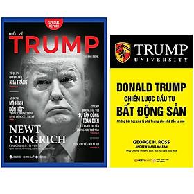 Combo Sách : Hiểu Về Trump + Donald Trump - Chiến Lược Đầu Tư Bất Động Sản
