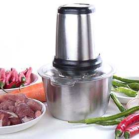 Máy xay thực phẩm, xay thịt lưỡi dao kép công suất lớn 300W