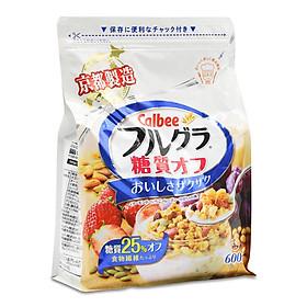 Ngũ Cốc Trái Cây Calbee Ít Đường Nhật Bản 600g