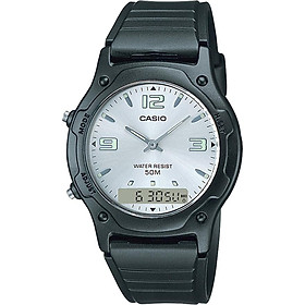 Đồng hồ unisex dây nhựa Casio AW-49HE-7AVDF