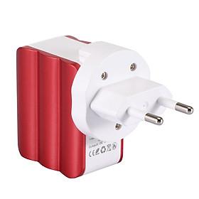 Adapter Sạc 2 Cổng USB Có Gờ Sóng