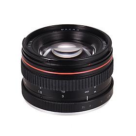 Lens Camera 50mm F/1.4USM Cho Nikon D7000 D7100 D200 - Đen