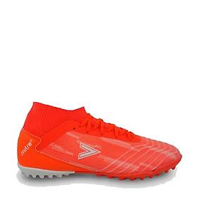 Giày sân cỏ nhân tạo Mitre 181229 mẫu mới, chống trơn trượt hiệu quả, hàng có sẵn, full box, dành cho nam, màu cam, đủ size