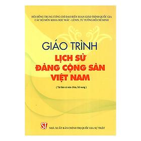 Giáo Trình Lịch Sử Đảng Cộng Sản Việt Nam