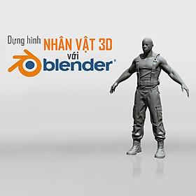 Tick Edu - Dựng Hình Nhân Vật 3D Với Blender