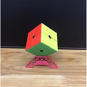 Rubik 2x2 kèm đế kê Rubik