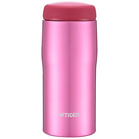 Tiger stainless steel vacuum flask imported male and female water cup MJA-B036-XCT stainless steel color 360ML