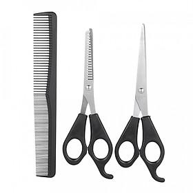 Bộ 3 Kéo Lược Cắt Tóc Barber