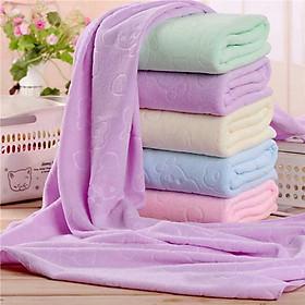 Combo 5 khăn tắm xuất Nhật khổ lớn siêu mềm mại (Giao ngẫu nhiên mẫu)