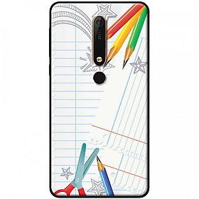 Hình đại diện sản phẩm Ốp lưng dành cho Nokia 6.1 mẫu Kéo chì màu