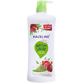 Sữa Tắm Hazeline Matcha & Lựu Đỏ (900g)