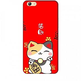 Ốp lưng dành cho điện thoại OPPO F3 PLUS Mèo Thần Tài Mẫu 1