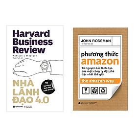 Combo Sách Kĩ Kinh Doanh: Nhà Lãnh Đạo 4.0  + Phương Thức Amazon