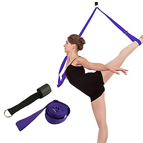 Door Leg Stretcher Flexibility Stretching Leg Strap for Yoga Ballet Dance Gymnastics Home Door Flexibility Trainer