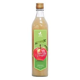 Giấm táo tự nhiên Viet Healthy 500ml- Dấm táo nguyên chất viethealthy có tác dụng rửa sạch tồn dư hóa chất, làm giảm ợ nóng trào ngược dạ dày, sỏi thận, ổn định đường huyết, giảm cân an toàn
