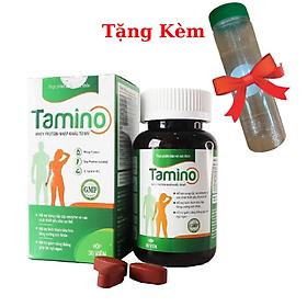 Viên Uống Hỗ Trợ Tăng Cân TAMINO, Tặng Kèm Bình Uống Nước