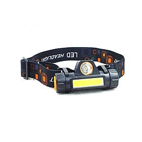 Đèn pin đội đầu hai bóng đa năng có thể tháo rời làm đèn pin cầm tay , dùng để du lịch, dã ngoại hoặc sử dụng trong gia đình- Hàng chính hãng