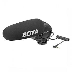 Micro shotgun cho máy ảnh, máy quay Boya BY-BM3030 - Hàng chính hãng