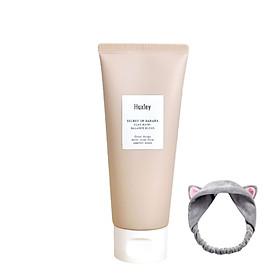 Mặt Nạ Đất Sét Làm sạch sâu, cân bằng da và thu nhỏ lỗ chân lông Huxley Clay Mask; Balance Blend  120g + Tặng Kèm 1 Băng Đô Tai Mèo (MÀu Ngẫu Nhiên)
