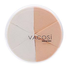 Bộ 6 Bông Phấn Ướt Trang Điểm Tam Giác Vacosi Collection Pro-Makeup - BP14