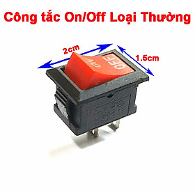 Bộ 10 công tắt chuyển đổi on/off mini cho xe máy (dùng làm công tắc đèn led, kèn…) Green Networks Group