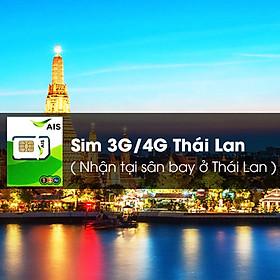 Sim 3G / 4G Thái Lan (Nhận Tại Sân Bay Ở Thái Lan)