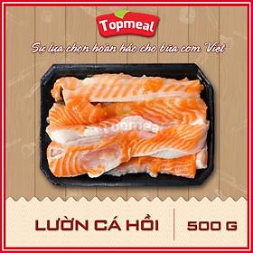 HCM - Lườn cá hồi (500g) - Thích hợp với các món chiên giòn, kho, nướng, nấu lẩu - [Giao nhanh TPHCM]