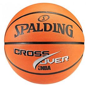 Bóng rổ Spalding NBA Cross Over Outdoor size 7 (mẫu mới)- Tặng kim bơm bóng và túi lưới đựng bóng