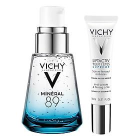 Bộ Chăm Sóc Da Kem Dưỡng Chống Nếp Nhăn Và Nâng Mí Mắt - Liftactiv Ds Eye Cream Vichy (15Ml) +Dưỡng Chất Khoáng Cô Đặc Giúp Phục Hồi Và Bảo Vệ Da Vichy Minéral 89 (30Ml)