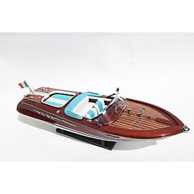 Thuyền gỗ trang trí RIVA AQUARAMA SƠN
