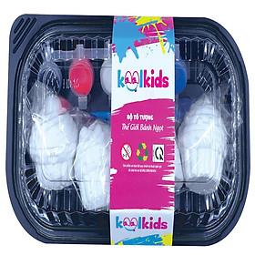 Đồ chơi trẻ em – Bộ tô tượng Thế Giới Bánh Ngọt KK-001