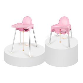 Ghế Ăn Dặm Glosby Babyhop 2 nấc Chân Điều Chỉnh,ăn dặm kiểu nhật và BLW, cho bé từ 6 tháng, được làm từ nhựa nguyên sinh an toàn cho sức khỏe của bé - Hàng chính hãng