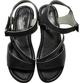 Giày Sandal Nữ BIGGBEN Da Bò Thật SDN35
