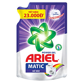 Nước Giặt Ariel Giữ Màu Dạng Túi (1.25Kg/Túi)