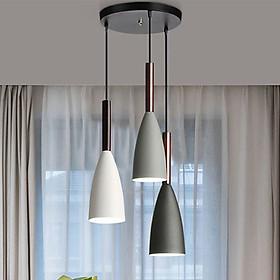 Đèn chùm - đèn thả phòng khách - đèn thả bàn ăn - đèn treo trần trang trí cao cấp PUCA lamp bộ 3 đèn