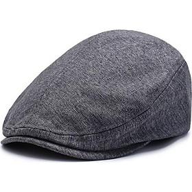 Mũ nồi vải cotton – Nón Beret Hàn Quốc dành cho nam và nữ phong cách cá tính độc đáo